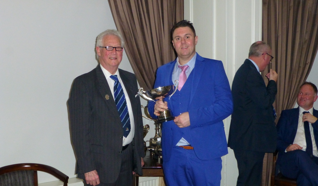 Order of Merit winner Paul Gault
